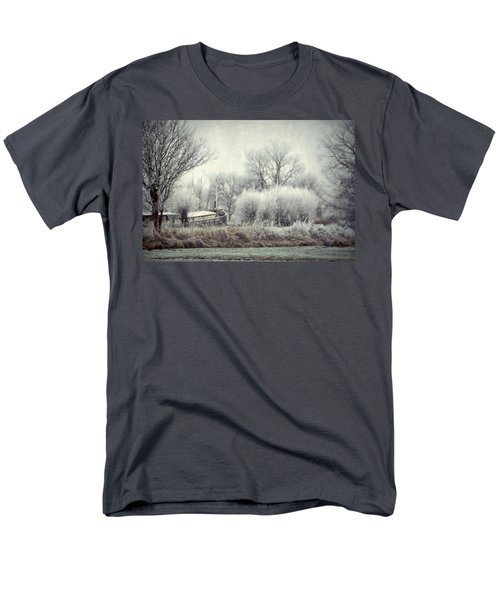 Men's T-Shirt  (Regular Fit) featuring the photograph Frozen World by Annie Snel