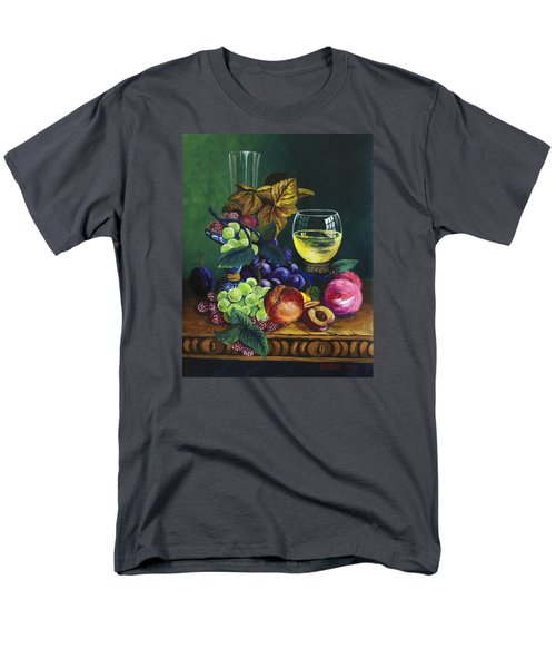 Fruit And Wine Men's T-Shirt  (Regular Fit) by Karon Melillo DeVega