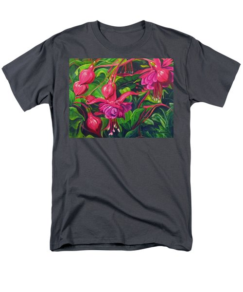 Fuchsia Fantastic Men's T-Shirt  (Regular Fit)