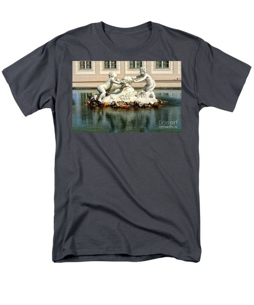 Men's T-Shirt  (Regular Fit) featuring the photograph Fun On The Water by Mariola Bitner