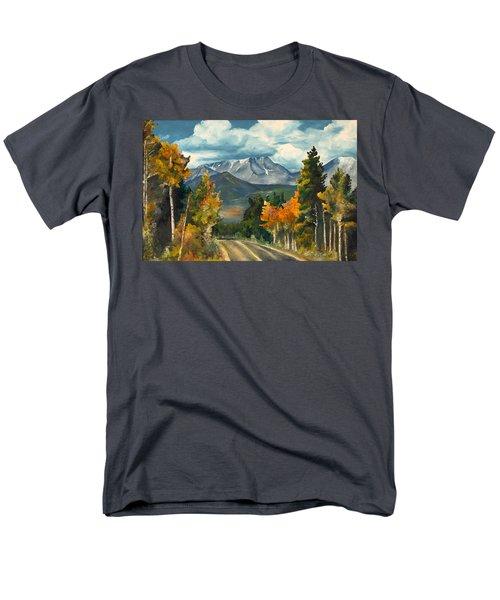 Gayle's Highway Men's T-Shirt  (Regular Fit) by Mary Ellen Anderson