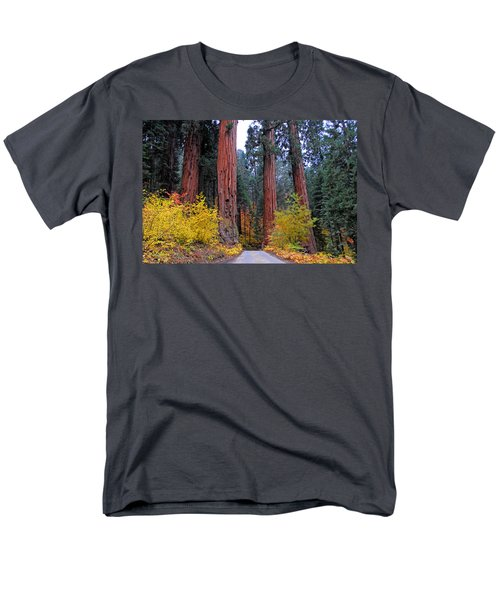 Men's T-Shirt  (Regular Fit) featuring the photograph General's Highway by Lynn Bauer