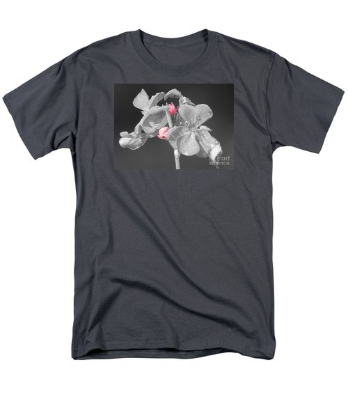 Geranium Men's T-Shirt  (Regular Fit) by Cindy Manero