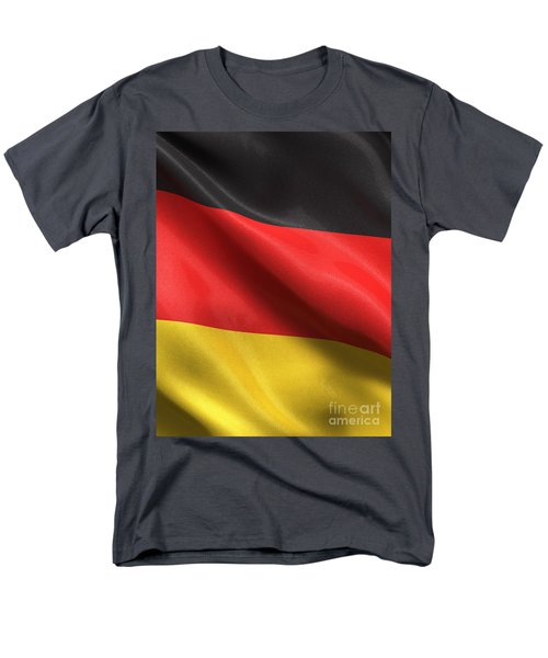 Men's T-Shirt  (Regular Fit) featuring the photograph Germany Flag by Carsten Reisinger