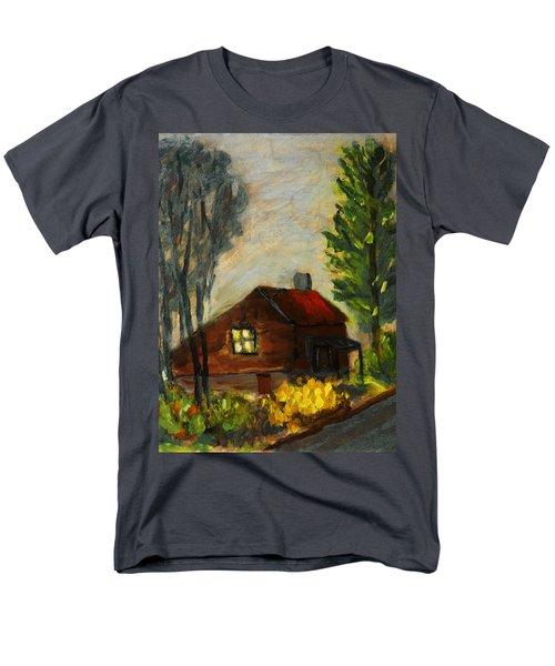 Getting Home At Twilight Men's T-Shirt  (Regular Fit) by Michael Daniels