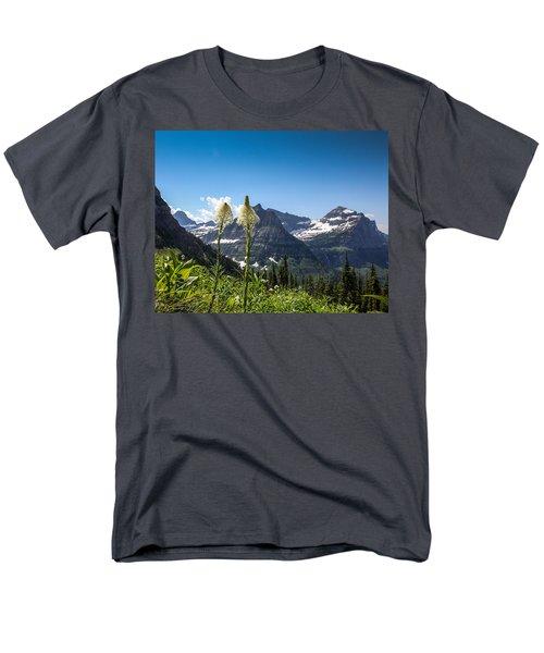 Glacier Grass Men's T-Shirt  (Regular Fit)