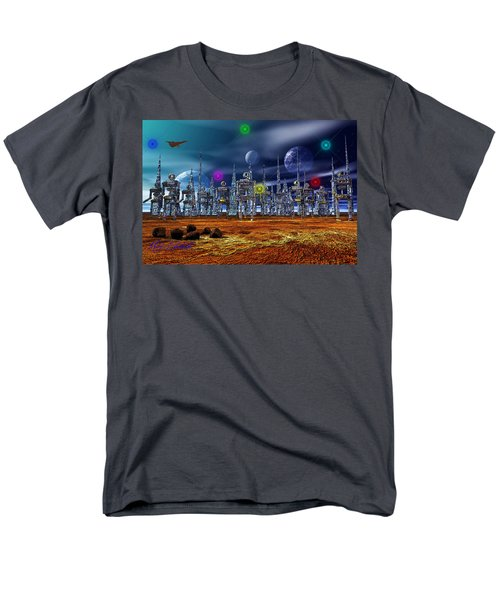 Men's T-Shirt  (Regular Fit) featuring the photograph Gloeroxz by Mark Blauhoefer