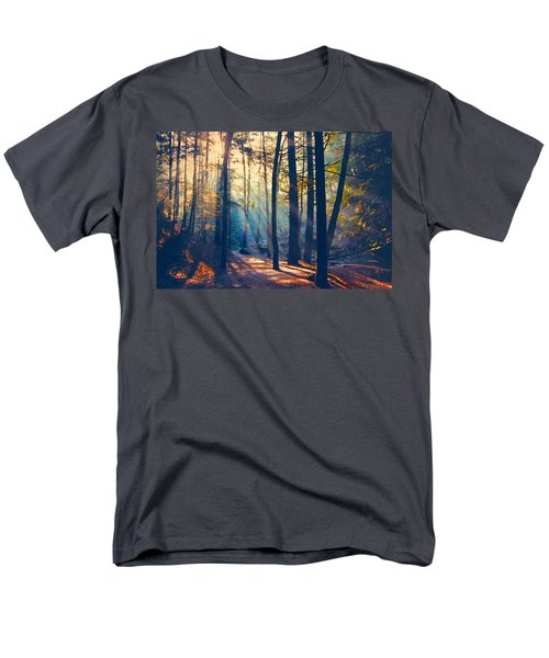 Glorious Forest Morning Men's T-Shirt  (Regular Fit) by Diane Alexander