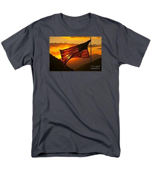 Glory At Sunset Men's T-Shirt  (Regular Fit)