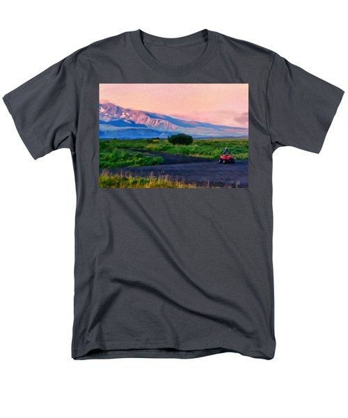 Going To School Cold Bay Style Men's T-Shirt  (Regular Fit) by Michael Pickett