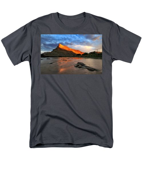 Men's T-Shirt  (Regular Fit) featuring the photograph Golden Highlights by Ronda Kimbrow