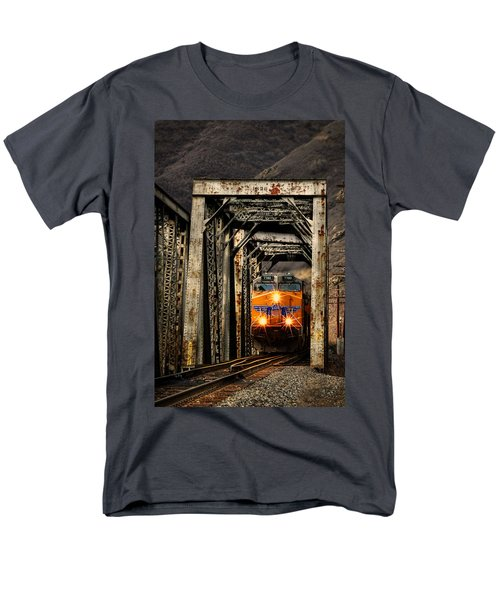 Men's T-Shirt  (Regular Fit) featuring the photograph Golden Hour Crossing by Ken Smith