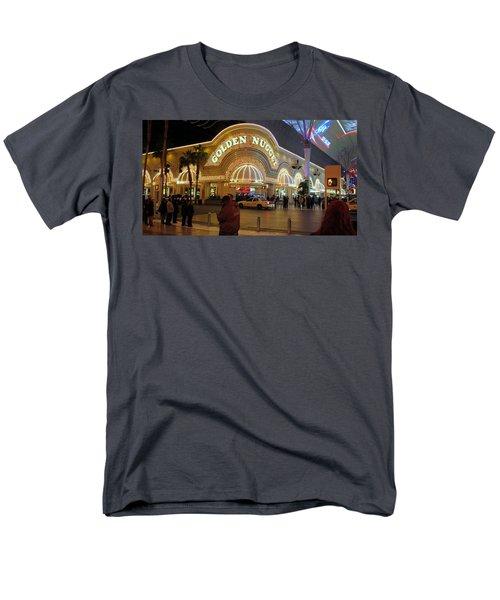 Golden Nugget Men's T-Shirt  (Regular Fit) by Kay Novy