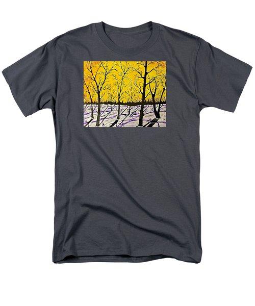 Golden Shadows Men's T-Shirt  (Regular Fit)