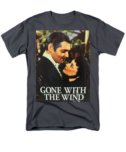 Gone With The Wind Men's T-Shirt  (Regular Fit) by Natalie Ortiz