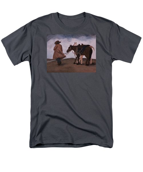 Good Day For A Walk Men's T-Shirt  (Regular Fit) by Christy Saunders Church