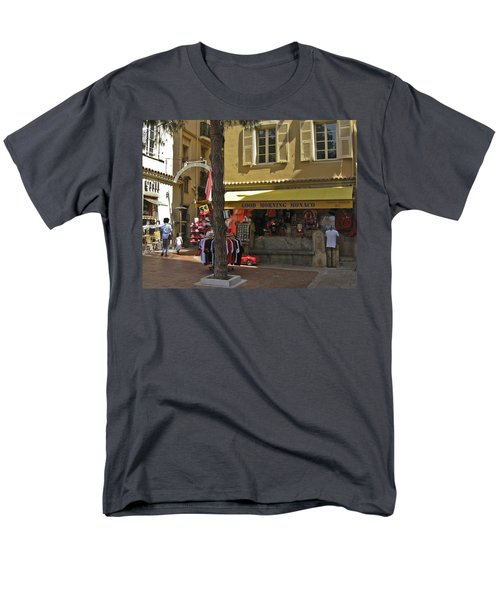 Men's T-Shirt  (Regular Fit) featuring the photograph Good Morning Monaco by Allen Sheffield