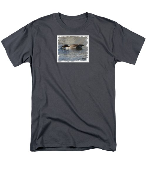 Goosey Lucy Painting Men's T-Shirt  (Regular Fit) by Bobbee Rickard