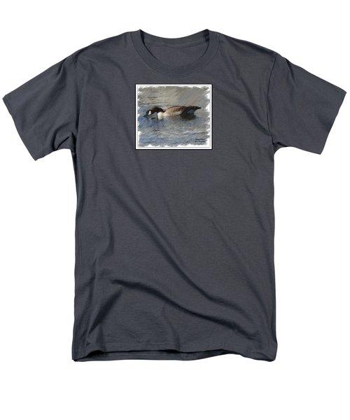 Goosey Lucy Painting Men's T-Shirt  (Regular Fit)
