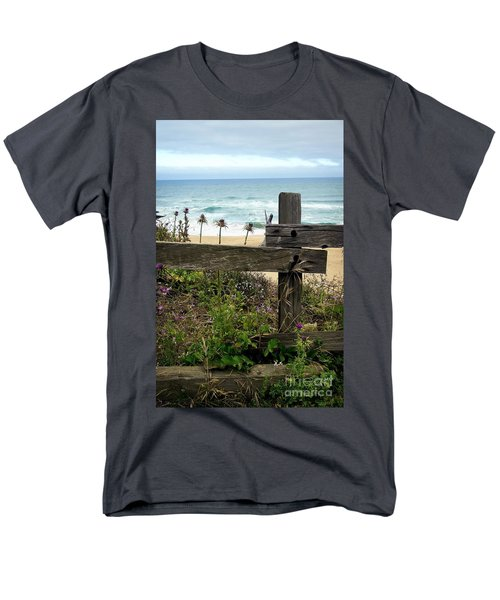 Greetings From San Francisco Men's T-Shirt  (Regular Fit) by Ellen Cotton