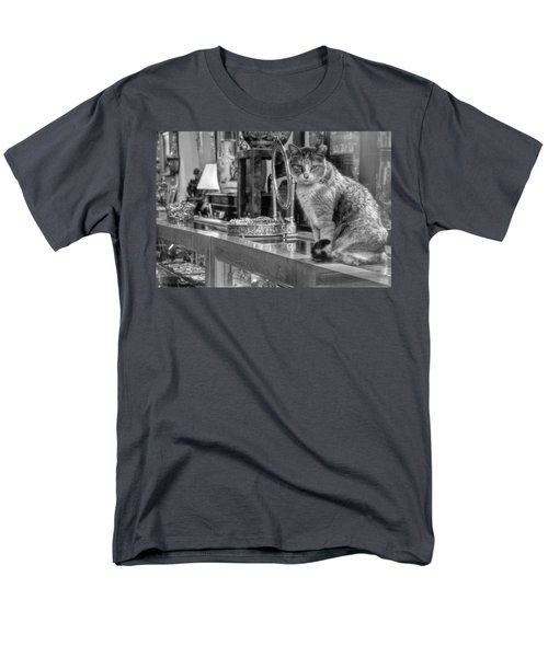 Guard Cat Men's T-Shirt  (Regular Fit) by Ron White