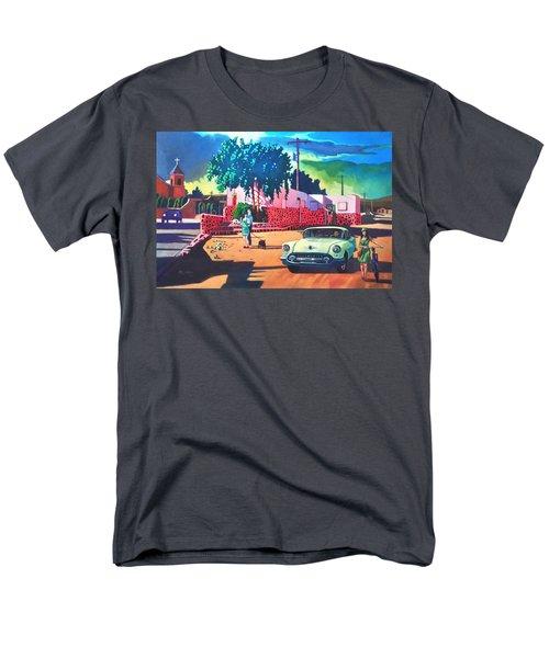 Guys Dolls And Pink Adobe Men's T-Shirt  (Regular Fit)