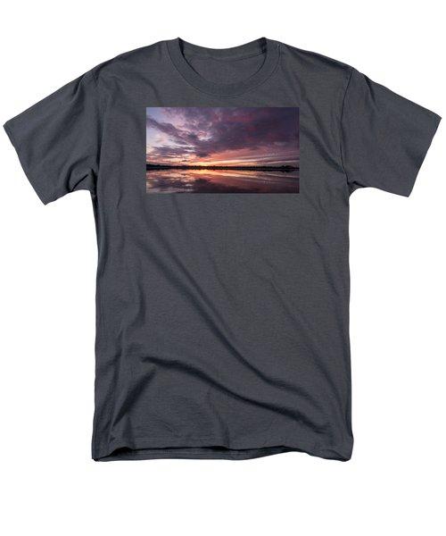 Halifax River Sunset Men's T-Shirt  (Regular Fit) by Paul Rebmann