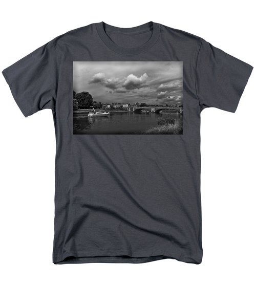 Hampton Bridge Men's T-Shirt  (Regular Fit) by Maj Seda