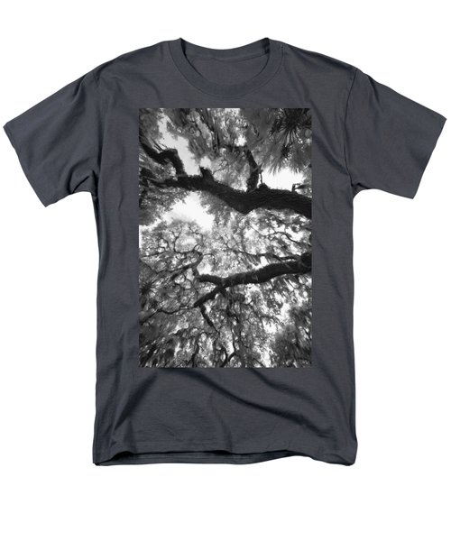 Men's T-Shirt  (Regular Fit) featuring the photograph Hanging Moss by Bradley R Youngberg