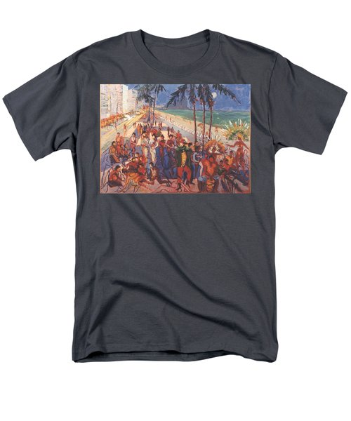 Men's T-Shirt  (Regular Fit) featuring the painting Happening by Walter Casaravilla