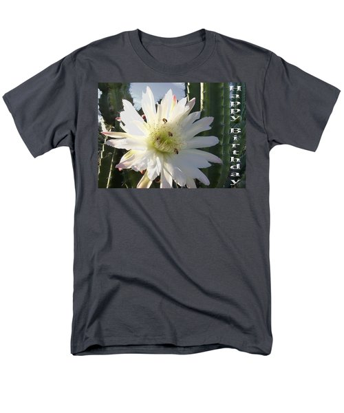 Men's T-Shirt  (Regular Fit) featuring the photograph Happy Birthday Card And Print 9 by Mariusz Kula
