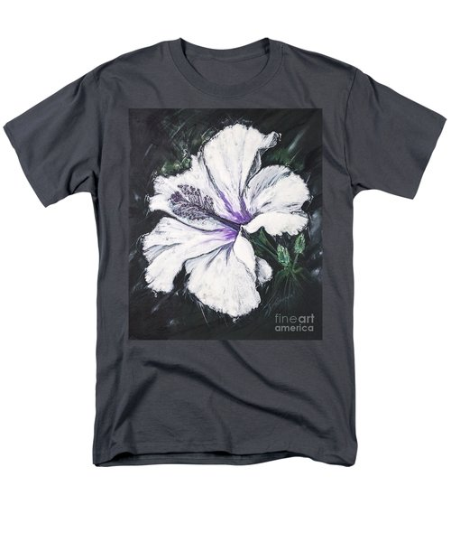 Happy Hibiscus Men's T-Shirt  (Regular Fit) by Scott and Dixie Wiley