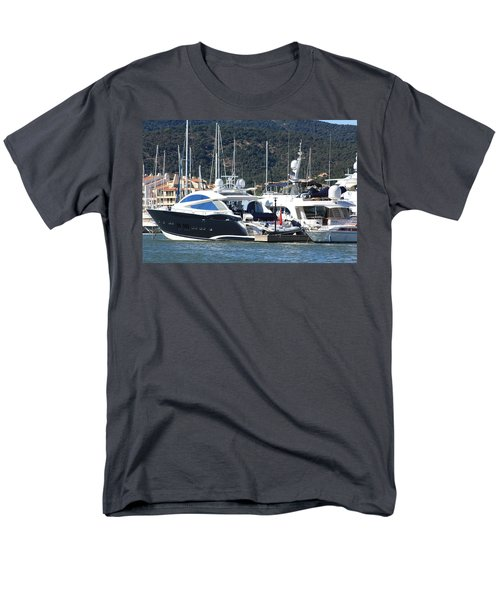 Harbour Docking Scene Men's T-Shirt  (Regular Fit) by Rogerio Mariani