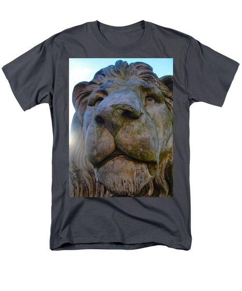 Harlaxton Lions Men's T-Shirt  (Regular Fit) by Tiffany Erdman