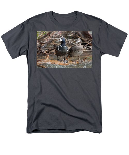 Men's T-Shirt  (Regular Fit) featuring the photograph Harlequin Pair by Jack Bell