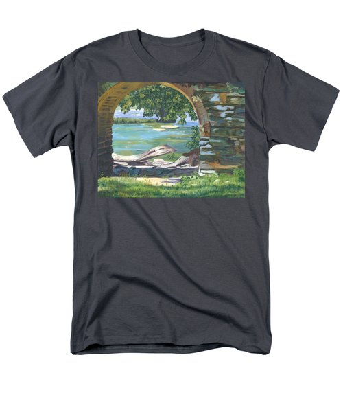 Harper's Arch Men's T-Shirt  (Regular Fit) by Lynne Reichhart