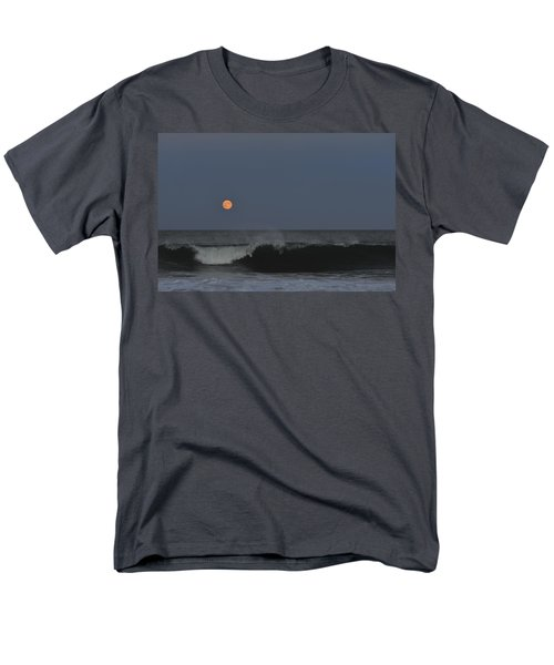 Harvest Moon Seaside Park Nj Men's T-Shirt  (Regular Fit) by Terry DeLuco