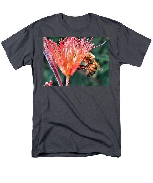 Men's T-Shirt  (Regular Fit) featuring the photograph Harvesting by Deb Halloran