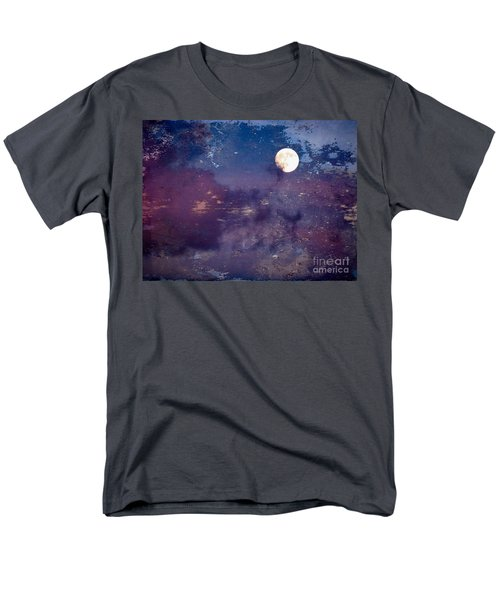 Haunted Moon Men's T-Shirt  (Regular Fit) by Roselynne Broussard