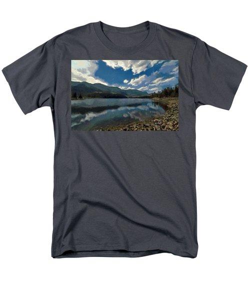 Haviland Lake Men's T-Shirt  (Regular Fit) by Jeff Kolker