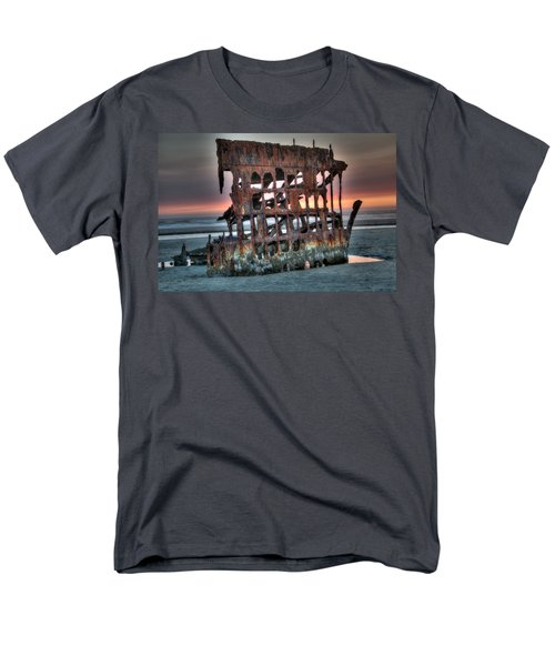 Hdr Peter Iredale Men's T-Shirt  (Regular Fit) by James Hammond