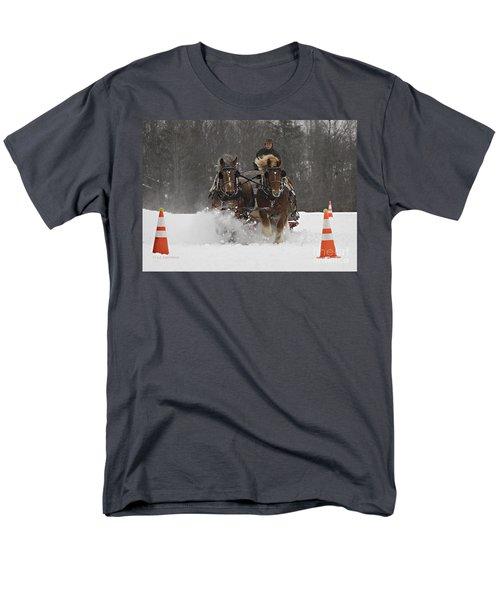 Heading To The Finish Men's T-Shirt  (Regular Fit) by Carol Lynn Coronios