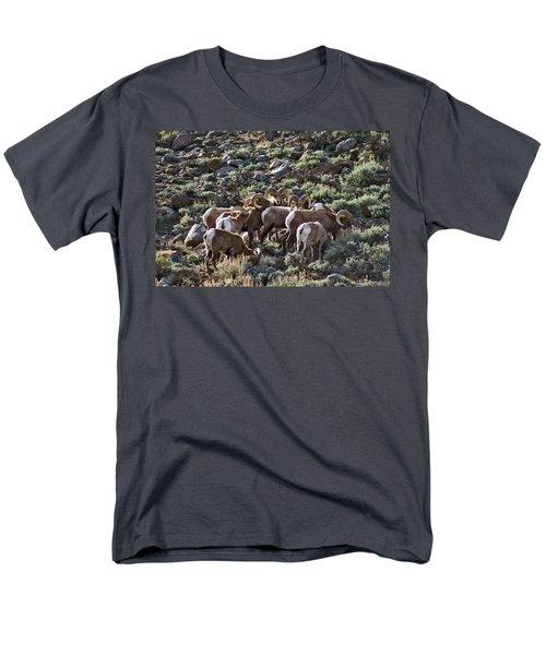 Herd Of Horns Men's T-Shirt  (Regular Fit) by Jeremy Rhoades