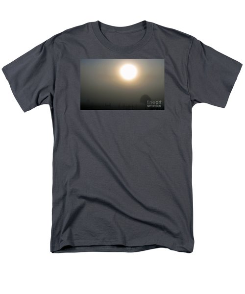 Men's T-Shirt  (Regular Fit) featuring the photograph Here Comes The Sun  by Juls Adams