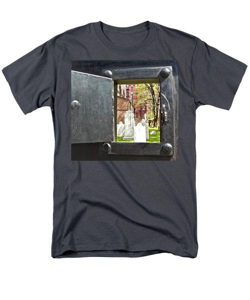 Men's T-Shirt  (Regular Fit) featuring the photograph Hidden New York by Joan Reese