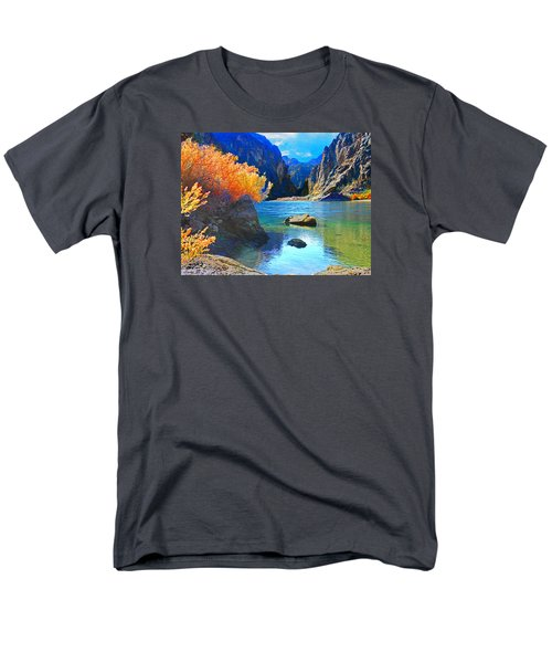 Hikers Haven Two Men's T-Shirt  (Regular Fit) by Alan Socolik