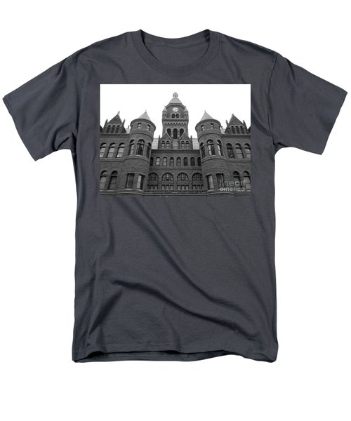 Men's T-Shirt  (Regular Fit) featuring the photograph Historic Old Red Courthouse Dallas #2 by Robert ONeil