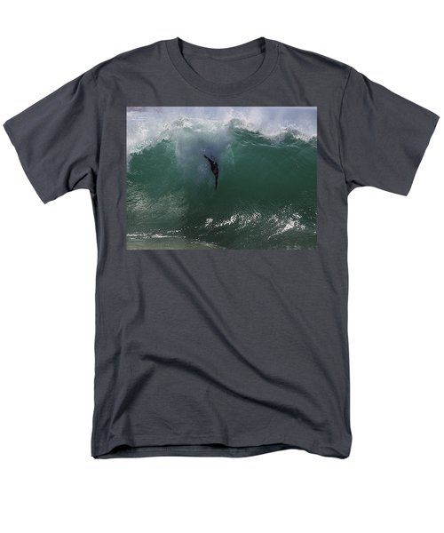 Hold Your Breath Men's T-Shirt  (Regular Fit) by Joe Schofield