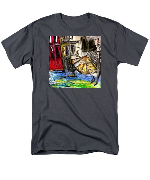 Holiday In Venice Men's T-Shirt  (Regular Fit) by Helen Syron