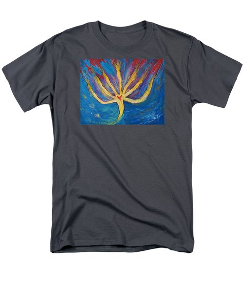 Men's T-Shirt  (Regular Fit) featuring the painting Holy Spirit Which Dwells In You by Cassie Sears